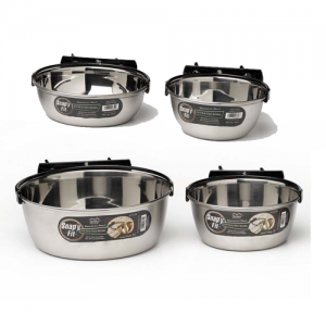 Midwest Dog Crate Snap'y Fit Bowls