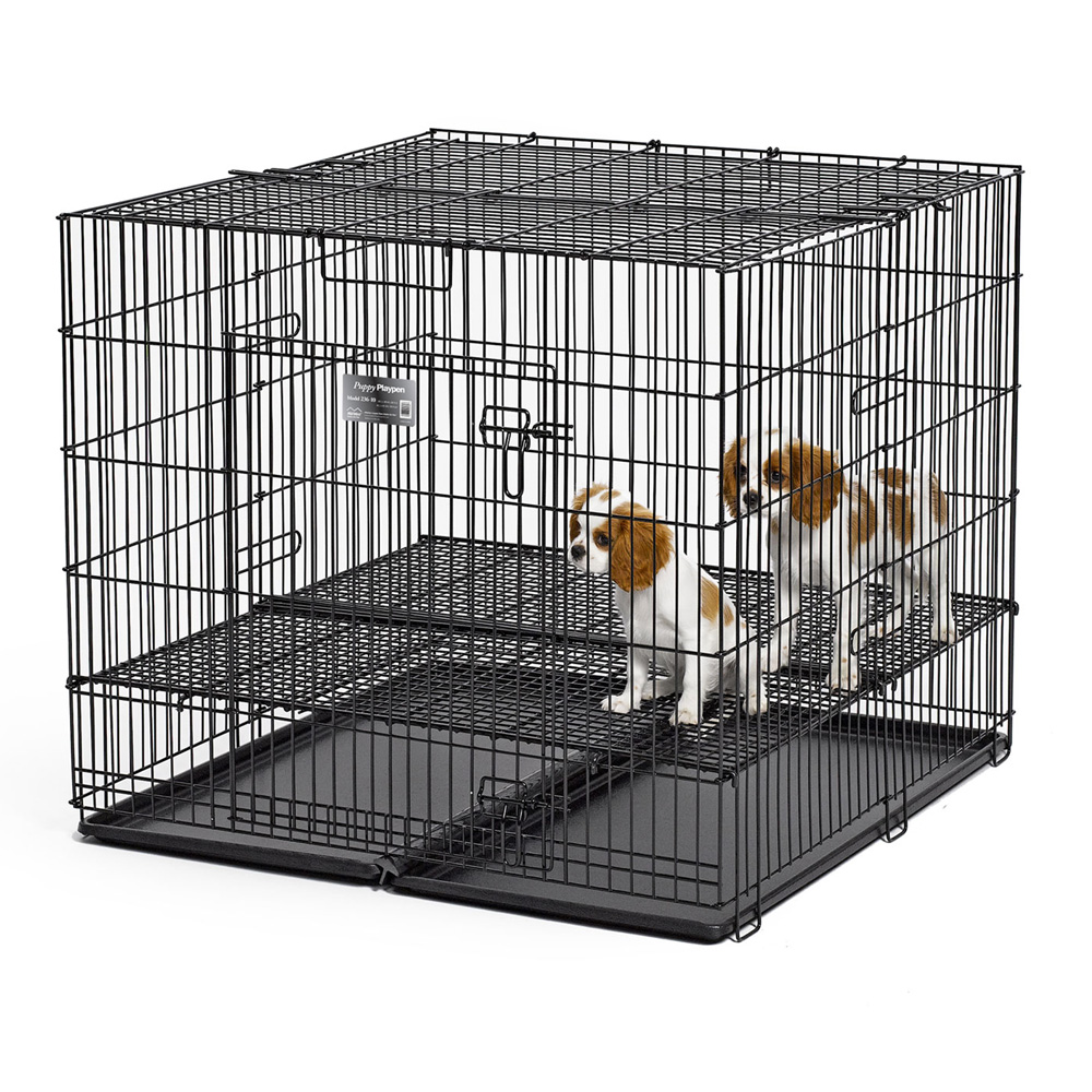 Puppy Playpens with Grid floors