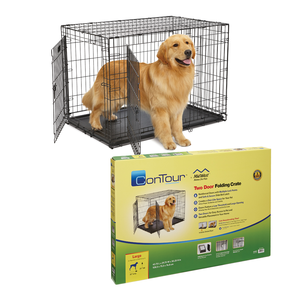 MidWest Contour 2 Door dog Crate