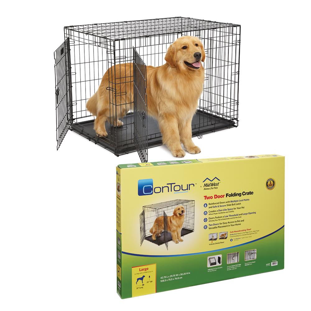 MidWest Contour 2 Door dog Crate