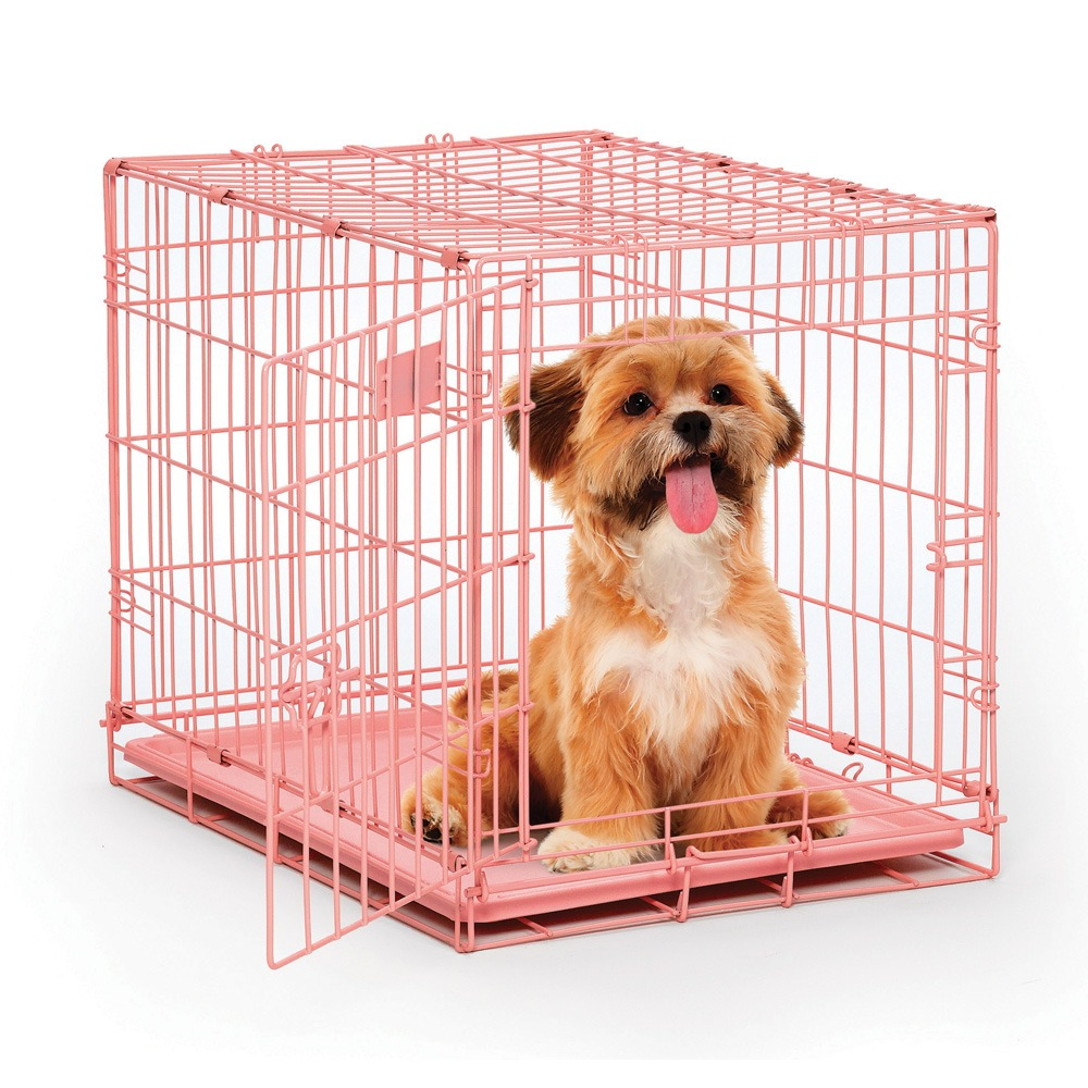 Coloured Dog Crates